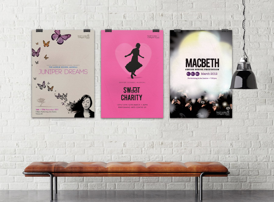 Drama production posters